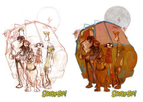 Scooby Doo Process by JohnTimms