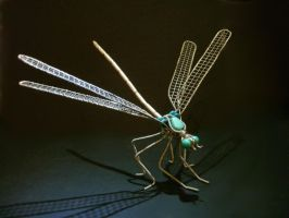 Dragonfly turquoise new3 by braindeadmystuff