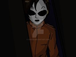 Masky at the doorway by cixucci