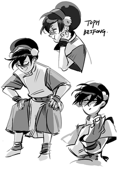 Toph by Meex99