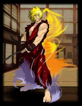 Ken Masters by faygo69