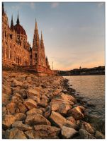Budapest parliament by Trifoto