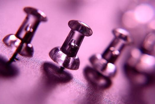 pushpins by Defies