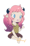 AT: Chibi Jassy by Yanie-The-Brown-Pone