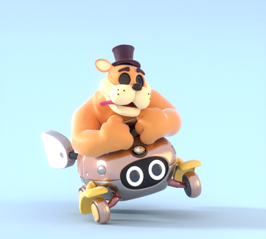 Riding Gold!! by SmashingRenders