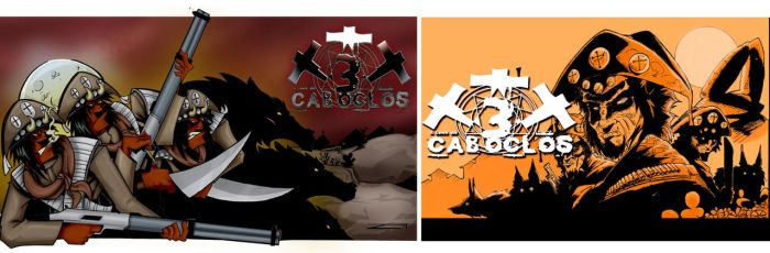 A Lenda dos Tres Caboclos Covers by Wolf-Signs