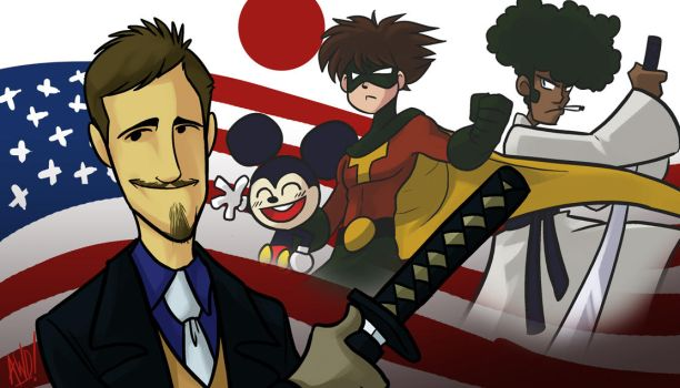 Suede - Top 11 American Animes by AndrewDickman