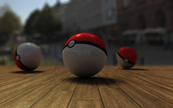 Pokeball by Trealol
