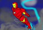 Ironman Sketch 7/3/2017 by jddishmonart