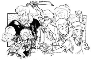 The Venture Bros. by illustrated1