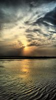Sunset in the sea II by imad95