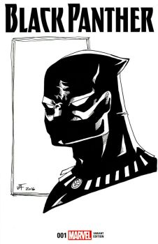 Black Panther - Sketch Cover by comicfreak41691