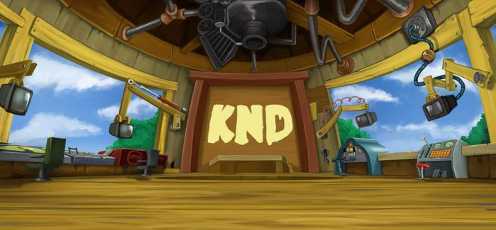 KND Sector V Control Room (Day) by Numbuh681