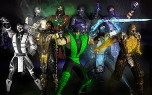 MK - All Ninjas Group Picture by SovietMentality