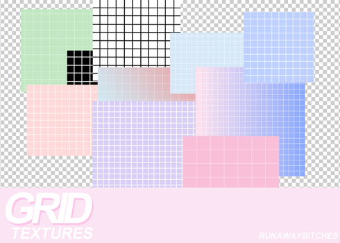 Grid textures by runawaybitches