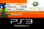My Xbox 360 Gamertag And PS3 Username by Somcothehedgehog