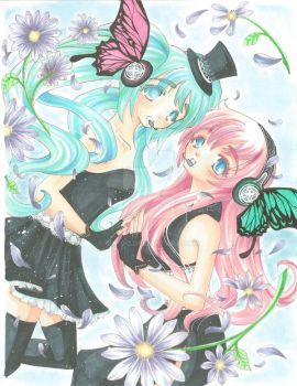 Magnet :: Luka + Miku by rin-go