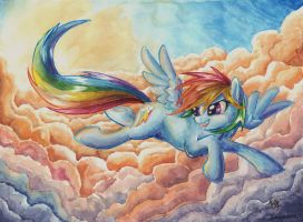 Colorful Skies by The-Wizard-of-Art