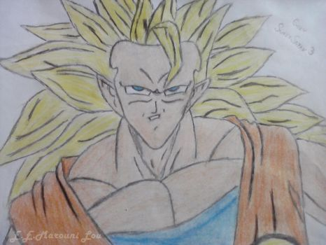 Goku Super Sayan 3 by ElithaEndoraMarouniL