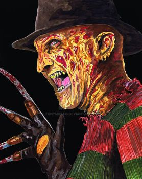 Freddy Krueger by TonyMiello