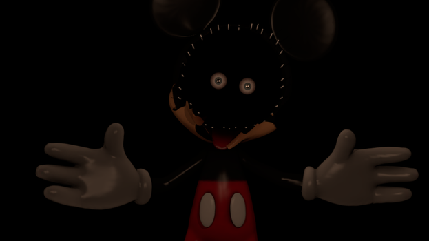 Abandoned Mickey by goldfreddyexe