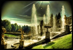 The Fountains are Flushing HDR by ISIK5
