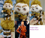 Dragon Age Alistair Plush by TRFan1999